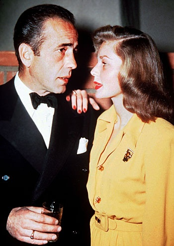 HUMPHREY BOGART & LAUREN BACALL. Bogie and Bacall married in 1945, had two kids, made several movies together, and charmed audiences during their 12-year marriage.