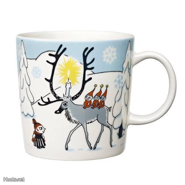 Muumimuki Talvimetsä  - magic Moomin forest