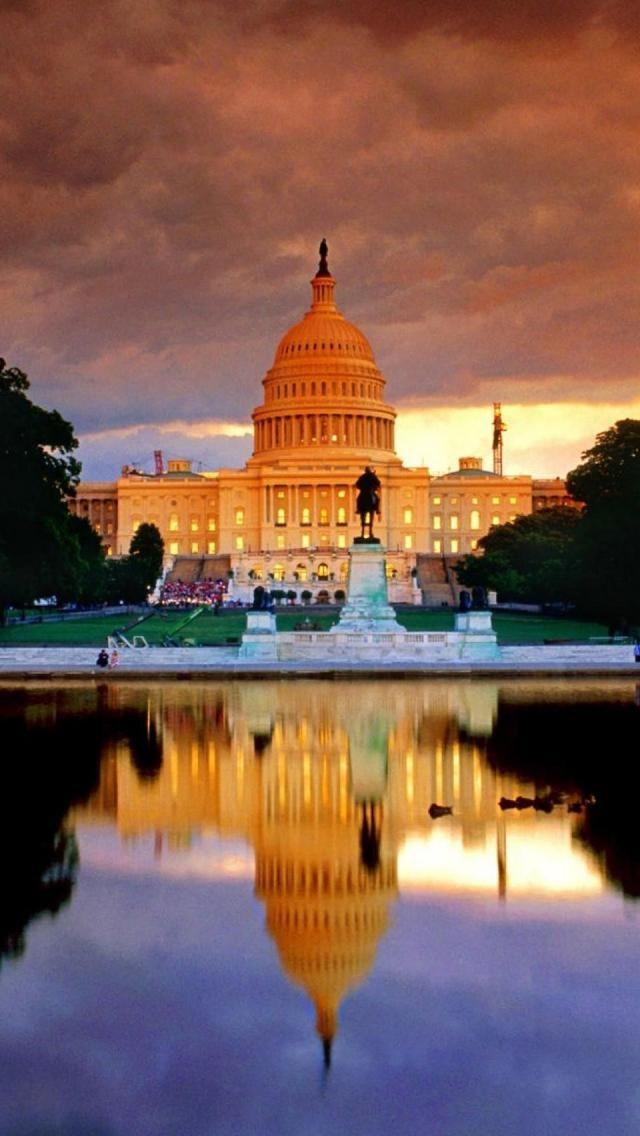 White House, Capitol Building, Capitol Hill, Washington DC, United States