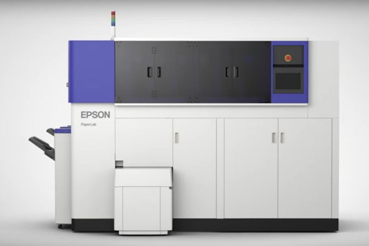 Epson's new paper recycler uses waste paper to create fresh sheets right in your office