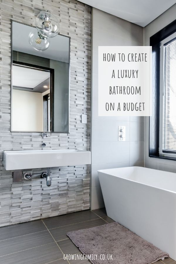 How To Create A Luxury Bathroom On A Budget Bathroom Layout