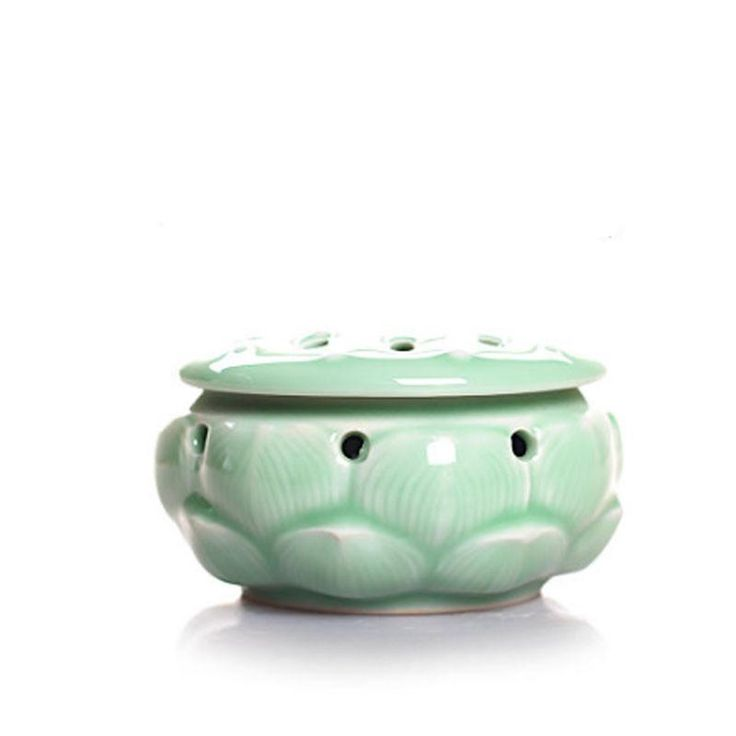 Longquan Celadon Incense Burner Ceramic Buddha Tool Handmade Antique Copper Incense Sandalwood Incense Censer    #香炉#incense burner#Quemador de incienso#Благовонная горелка#Br?leur d'encens#moylor