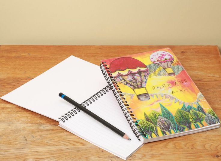 Up, up and Away Notebook