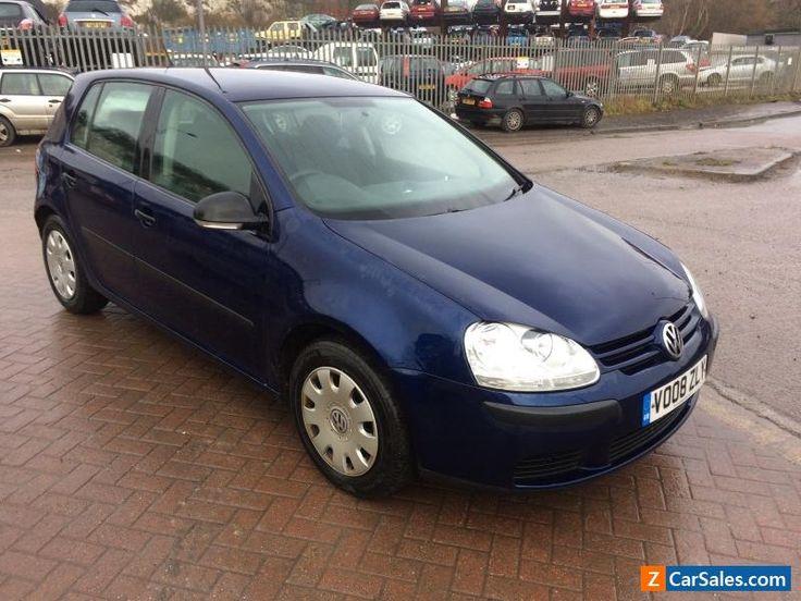 2008 Volkswagen Golf 1.9 Tdi S Blue MOT economical commuter car #vwvolkswagen #golf #forsale #unitedkingdom
