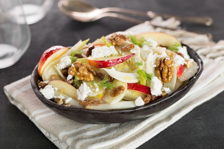 Insalata di finocchi e mele ricetta