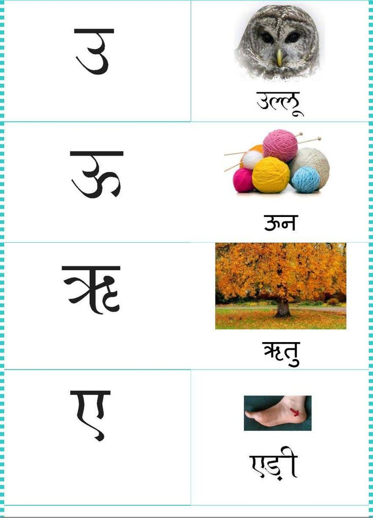 Hindi Vowels in 2020 Hindi worksheets, Hindi alphabet, Vowel