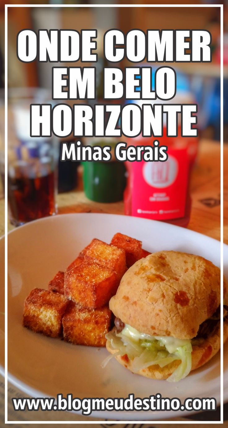 Confira nossas dicas gastronômicas com algumas opções onde comer em Belo Horizonte. Tem restaurantes, lanchonetes e sorveterias.