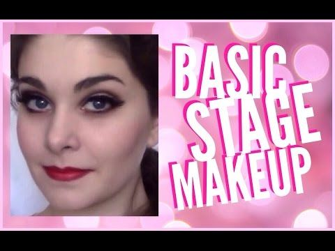 ▶ Ballet Performance Stage Makeup - YouTube