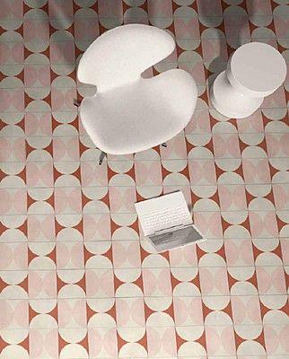 Bisazza Mahdavi Mahdavi-Bisazza-2 , Extérieur, Espace public, Séjour, style Style designer, India Mahdavi, Ciment, revêtement mur et sol, Surface mate, bord non rectifié