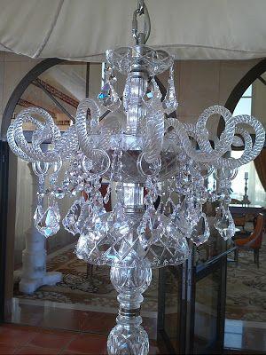 Restaurata: ¿Cristal de Roca, Vidrio o Cristal?. Restauración de lámparas de cristal.