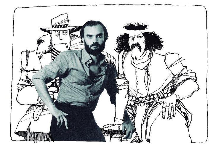 Con Boogie el aceitoso, impiadoso matón y asesino a sueldo y el gaucho Inodoro Pereyra el renegau.