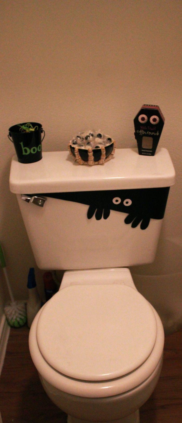 Halloween bathroom decorations - 2nd Annual Halloween Party Halloween Bathroom Decorationshalloween