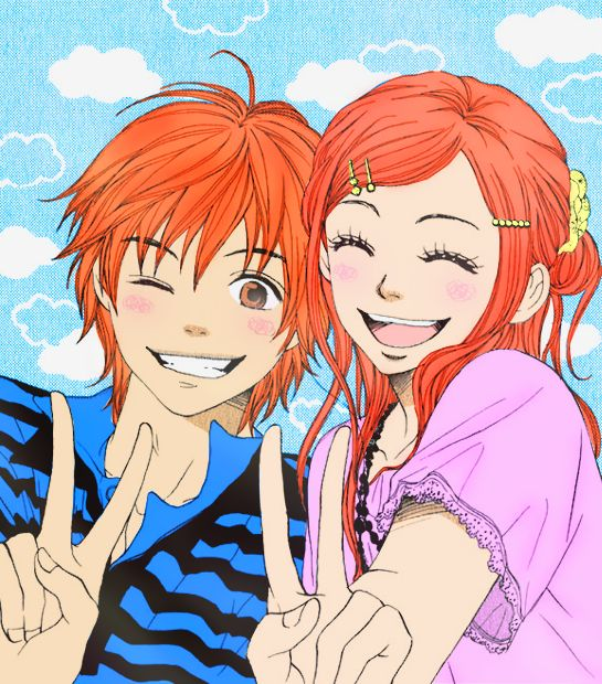 Anime Boy And Girl Friends