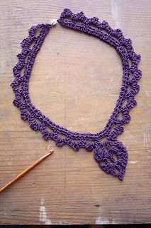Ravelry: Mother's Day 2016 - Crocheted Necklace pattern by Alison Green