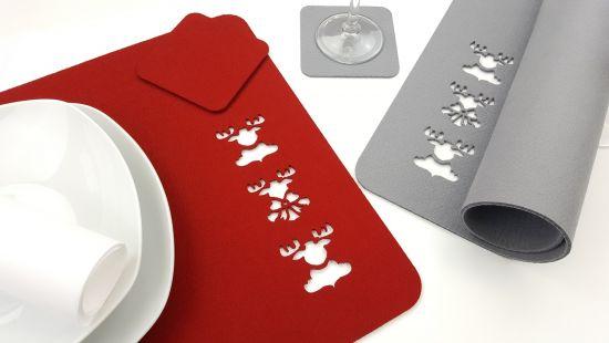 Unsere Platzsets sind ein Hingucker - passend dazu sind auch Tischbänder, Tischläufer sowie Untersetzer erhältlich! Die Platzsets eignen sich auch als Sideboard oder Tisch Auflagen zum dekorativen Platzieren von Schalen, Vasen, Kerzenständern, Bilderrahmen und vielem mehr.  Besuch uns unter www.voigt24shop.de und lass dich von unserer Weihnachtswelt inspirieren.