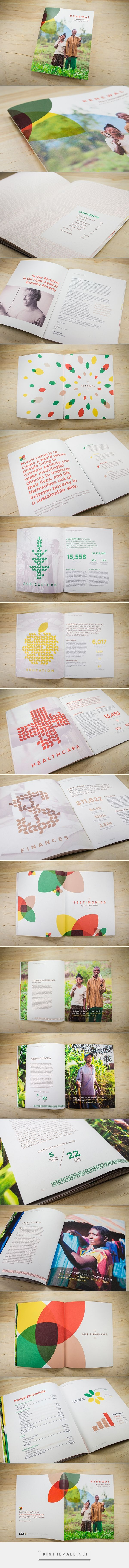 Nuru International Annual Report on Behance