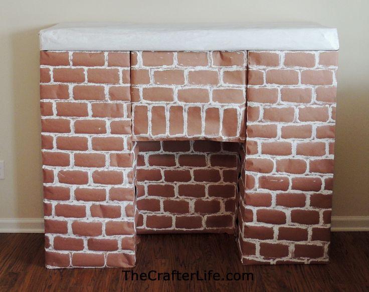 the 25 best cardboard fireplace ideas on