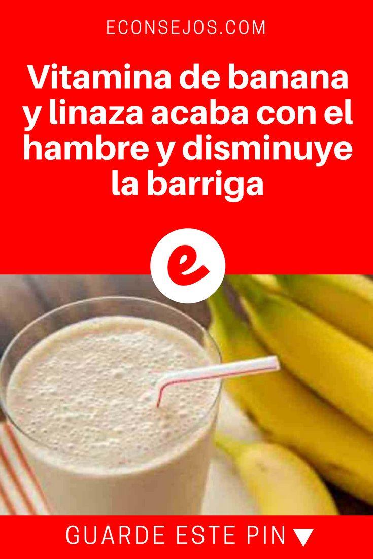 Vitamina de banana para emagrecer | Vitamina de banana y linaza acaba con el hambre y disminuye la barriga | Ésta es una vitamina muy especial. Ella no es una simple vitamina de banana porque viene acompañada de 3 extraordinario ingredientes. Juntos, ellos lo ayudarán a perder peso y a eliminar líquidos. Aprenda aquí .