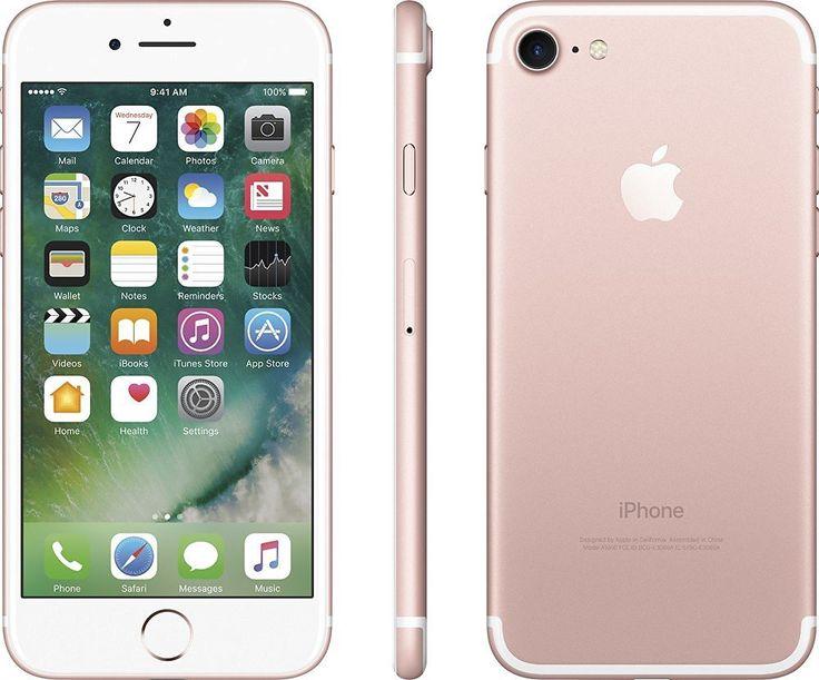 Amazon.com: Apple iPhone 7 Unlocked Phone 32 GB - US Version (Rose Gold): Cell Phones & Accessories