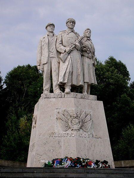 Slovakia, World War II memorial Dargov, author: V. Loffler, B. Jansky, 1954-55
