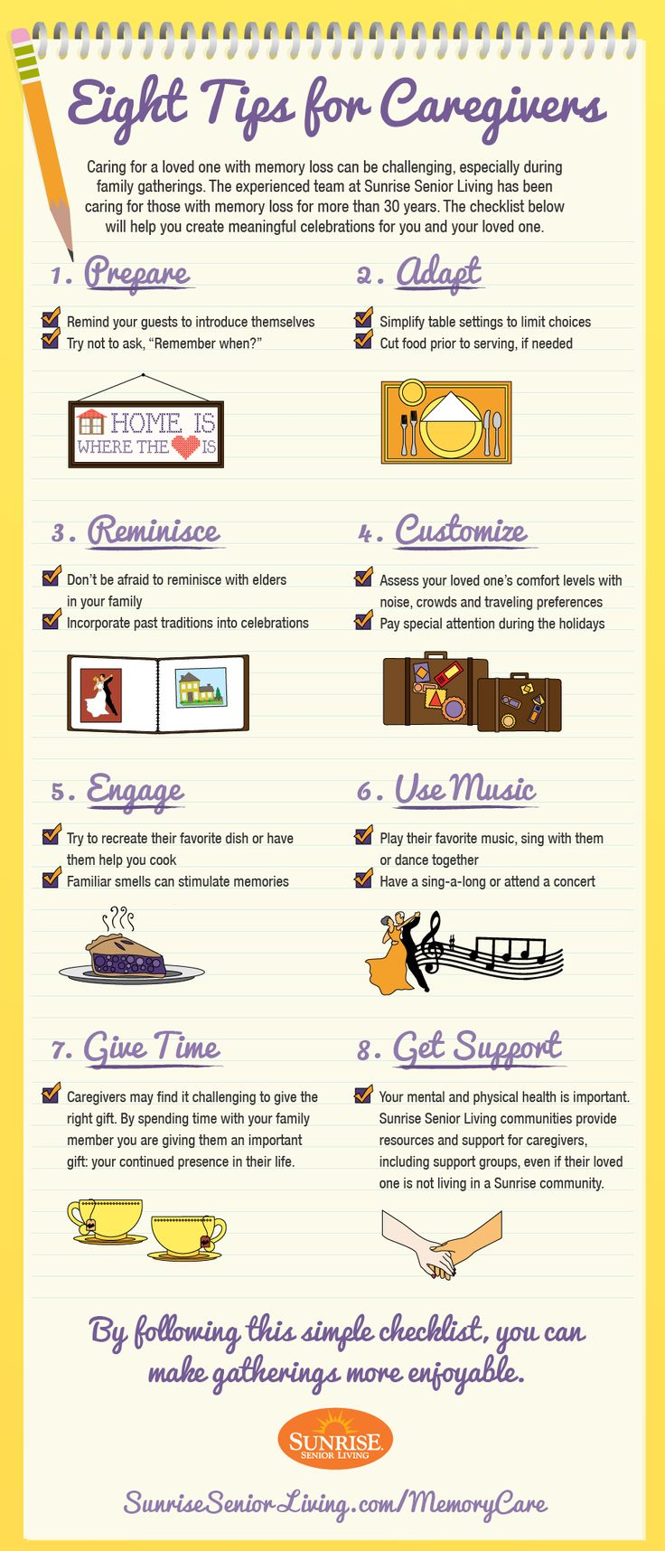 Eight Tips for #Caregivers