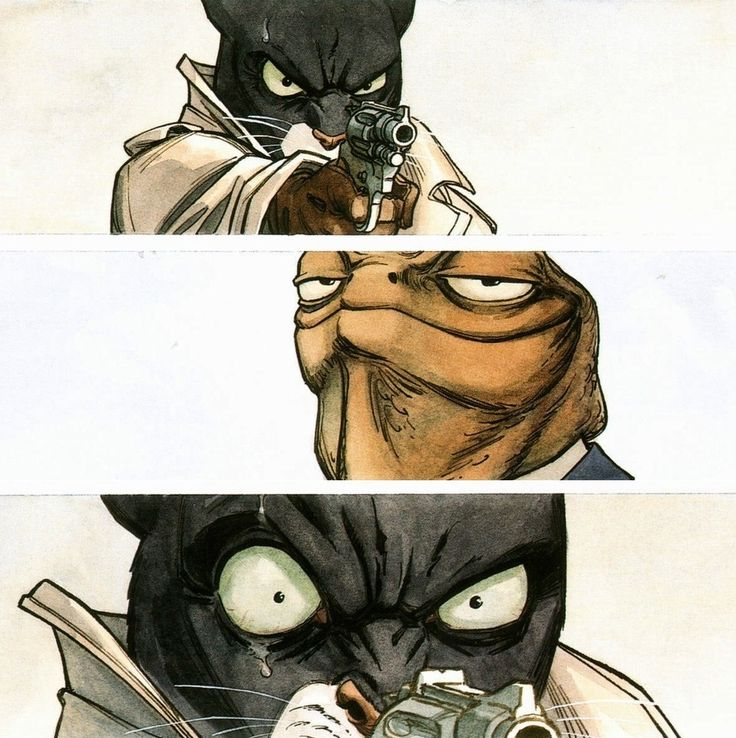 Blacksad is a comic album series created by Spanish authors Juan Díaz Canales (writer) and Juanjo Guarnido (artist),