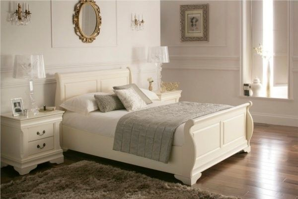 Louie - Double Bed Frame - Cream/Buttermilk; JUST fell totally in <3 with this bed!