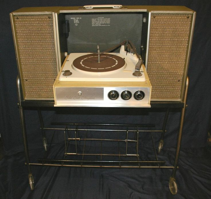 Vintage 1960s Zenith Stereo Suitcase Portable Record