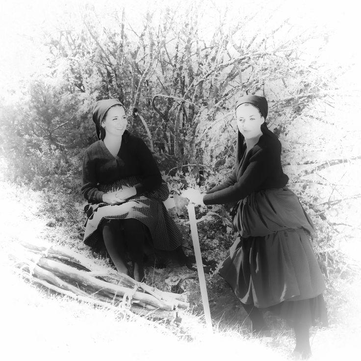 donne in montagna