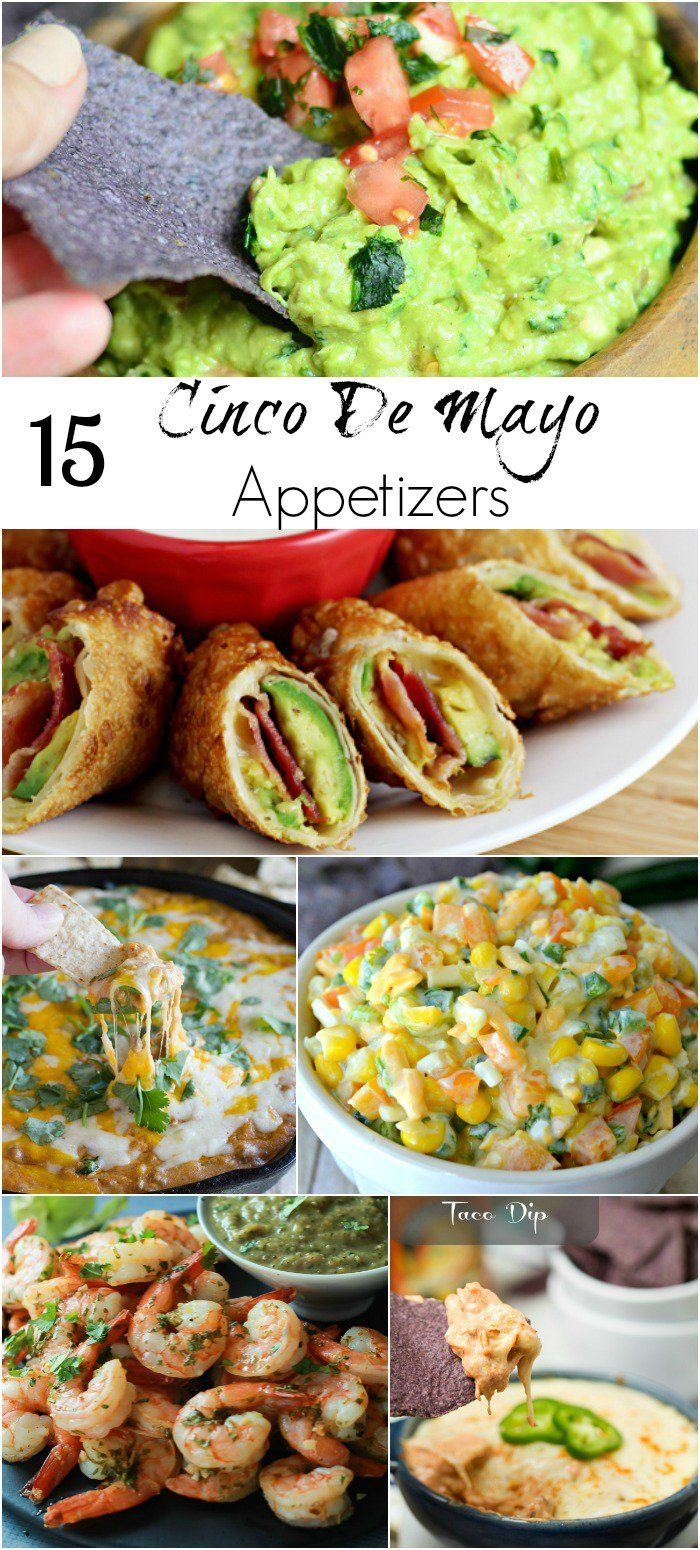 15 Cinco De Mayo Appetizers  from @willcook4smiels