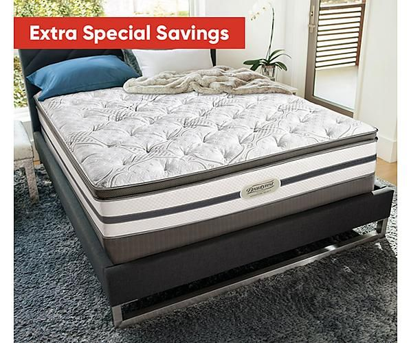 Recharge Signature Select Bay Spring 14 Luxury Firm Pillow Top Mattress Simmons Beautyrest Mattress Mattress Beautyrest Mattress