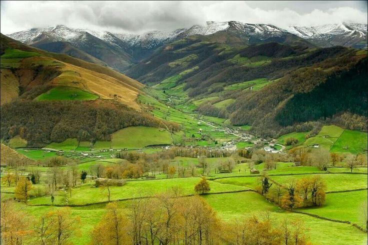 Valles pasiegos otoño