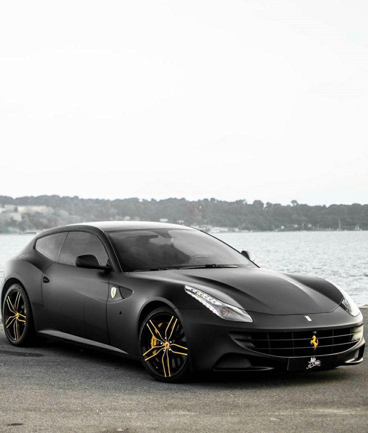 Ferrari FF with Matte black wrap #CarFlash