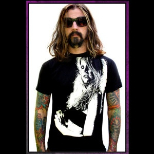 I can't explain how much I love Rob Zombie's work and his bomb wife Sheri Moon....Cam will own this shirt soon!