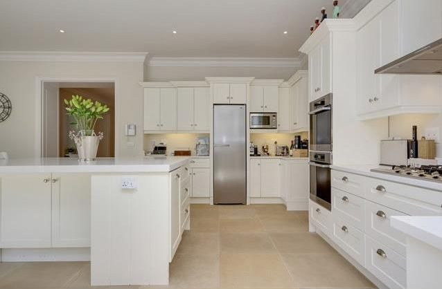 Kitchen in a house designed for a private client.  We love the open plan design.  #kitchen #interiordesign #white #propertydevelopment #design #architecture  #home #lifestyle #luxury #urban