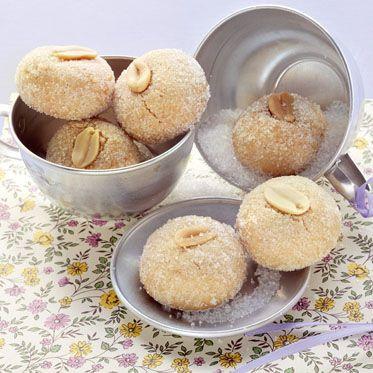 Zarte Erdnussseufzer Rezept | Küchengötter