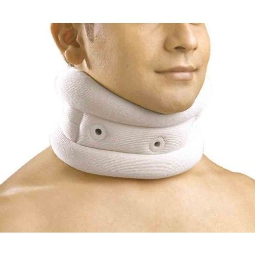 Dyna Silver Cervical Collar is made of Polyurethane foam covered with Silver lined fabric which provides the skin with protection against infection and rashes and promotes patient hygiene and comfort by eliminating odor.
