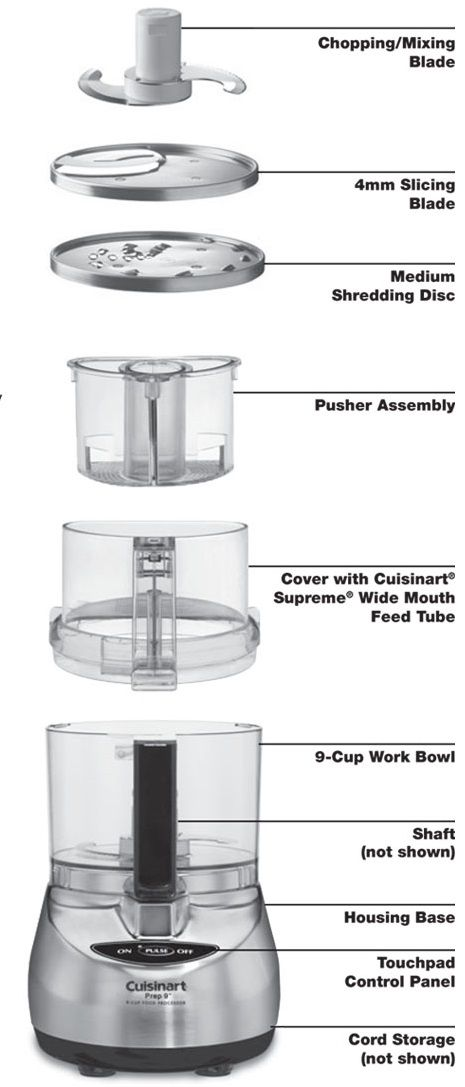 How to USe a Cuisinart Food Processor, Brushed Stainless