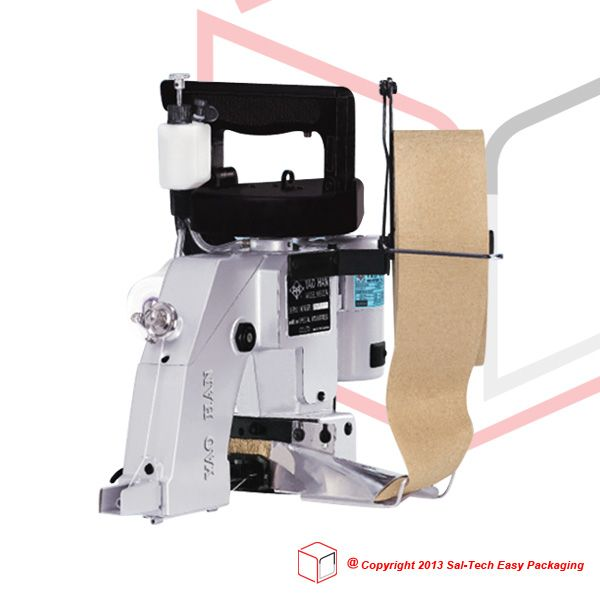 STEP N600AC that can close sacks and bags adding in crepe paper, giving a stronger and tighter seal.