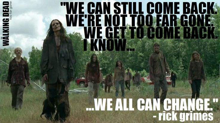"Rick Grimes to The Governor at 4x08 ""Too Far Gone"" 