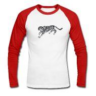 Bluzy z długim rękawem ~ Koszulka męska bejsbolowa z długim rękawem ~ Numer produktu 27000893