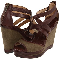 Do you love Frye shoes as much as we do?  Get up to 70% OFF here: http://dealspl.us/t/issmLcStitches Wedges, Httpmayacubeblogspotcom, Fatigue Dark Brown, Crosses Stitches, Corrina Crosses, Frye Corrina, Cross Stitches, Shoes Shoes, Frye Shoes