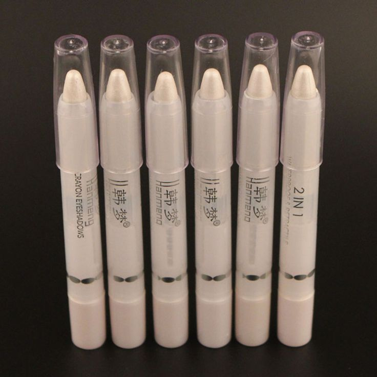 Waterproof Eyeliner Pencil Eye Lner Pencil Pen Make Up Beauty Comestic Pearl White Eyeliner Pen M01968