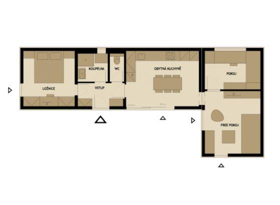 modelos de planos de casas pequeas de madera modernas por mdulos