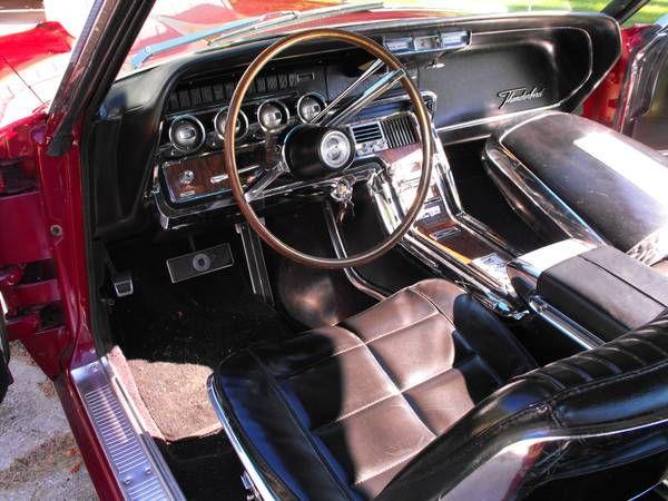 make ford model thunderbird year 1966 exterior color burgundy interior color black doors. Black Bedroom Furniture Sets. Home Design Ideas