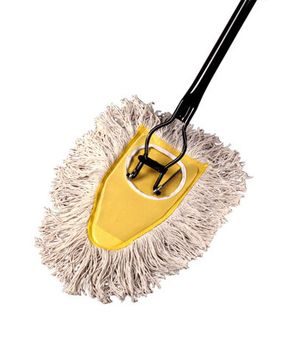 Old fashioned dust mops 65