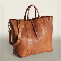 Ralph Lauren Leather Tote. Yes please!