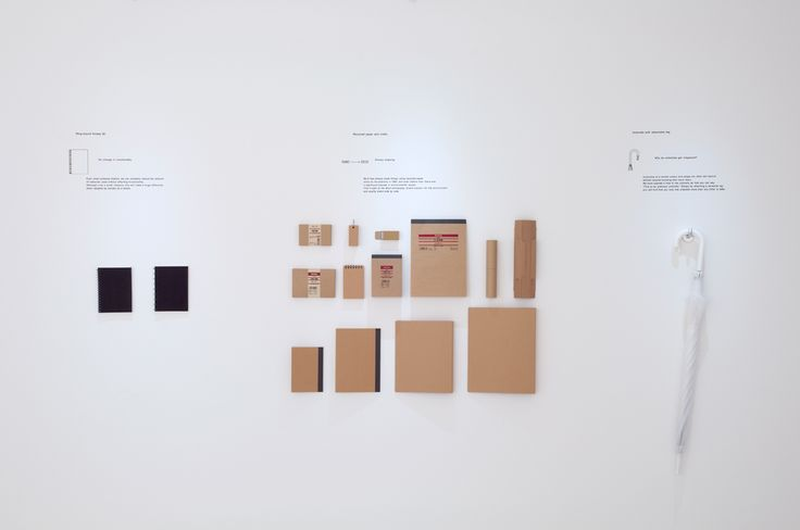 A recent exhibit in London laid bare the careful details that make Muji's products smaller and more efficientand, as a result, greener.