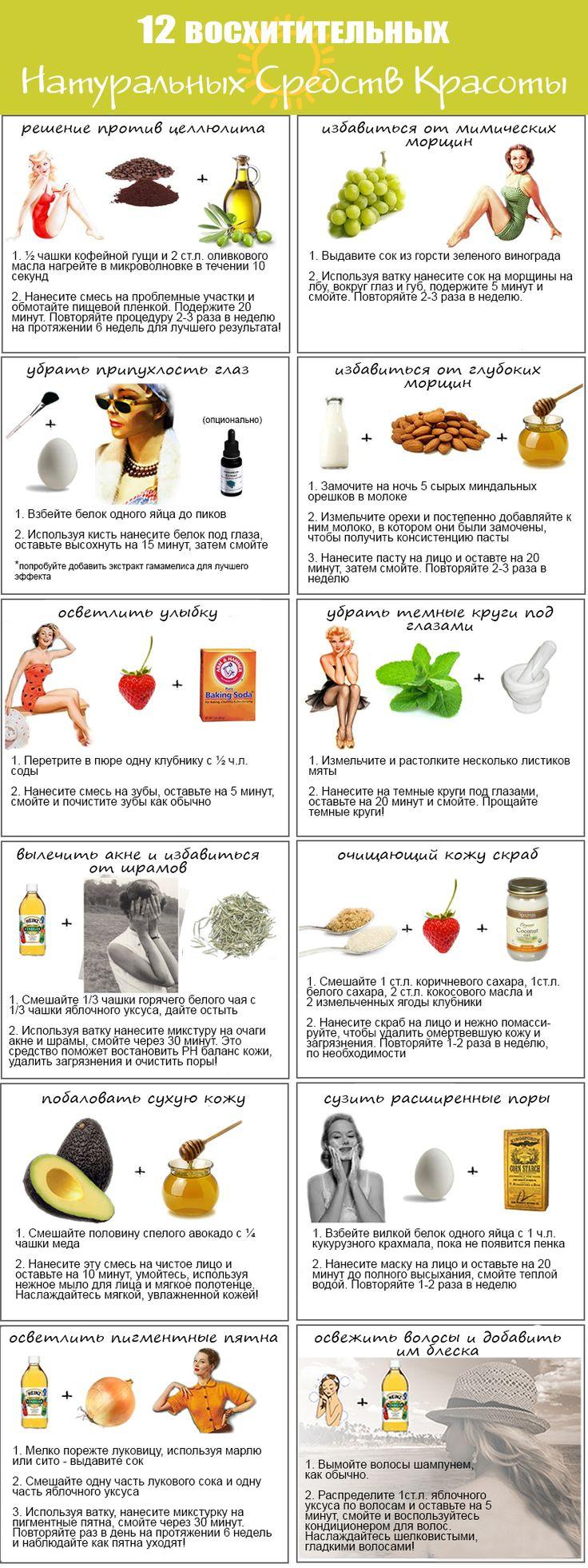 Натуральные рецепты красоты