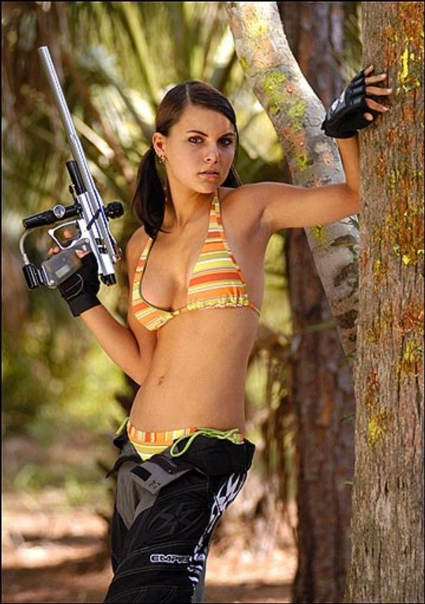 Sexy nude paintball bww mature
